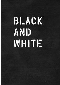 Black and White / Schwarz auf Weiß - Gömöri, Enikö; Herrmann, Norbert