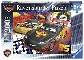 Ravensburger 12819 - Cars: Auf der Rennstrecke, Puzzle 200 Teile XXL