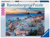 Ravensburger 19611 - Abend über Santorini, 1000 Teile Puzzle