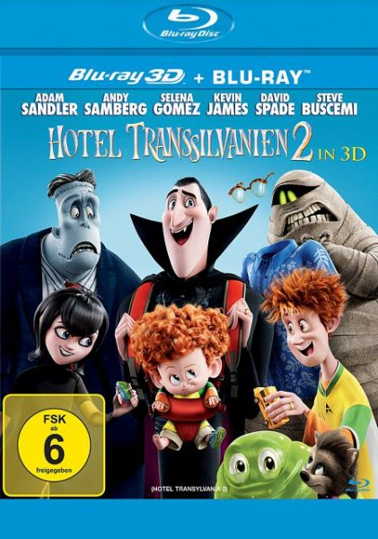 Hotel Transsilvanien 2 (Blu-ray 3D, 2 Discs)