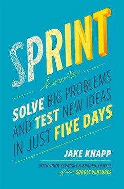 Sprint - Knapp, Jake;Zeratsky, John;Kowitz, Braden