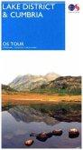 Touring Map Lake District & Cumbria