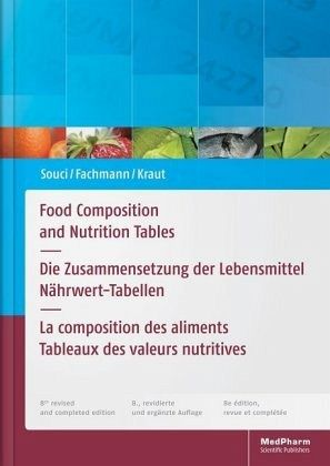 Food composition and nutrition tables buch - Table de composition des aliments simplifiee ...