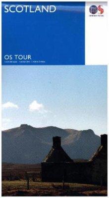 Touring Map Scotland - Ordnance Survey
