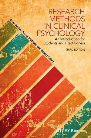Research Methods in Clinical Psychology (eBook, ePUB) - Barker, Chris; Pistrang, Nancy; Elliott, Robert