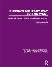Russia's Military Way to the West (eBook, PDF)