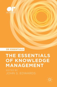 The Essentials of Knowledge Management (eBook, PDF)