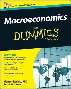 Macroeconomics For Dummies - UK, UK Edition (eBook, ePUB) - Rashid, Manzur; Antonioni, Peter