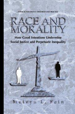 Race and Morality (eBook, PDF) - Fein, Melvyn L.