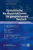 Syntaktische Ko-Konstruktionen im gesprochenen Deutsch (eBook, PDF)