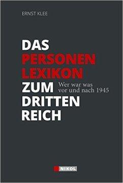 Das Personenlexikon zum Dritten Reich - Klee, Ernst