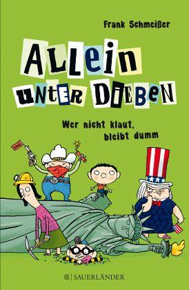 Buch-Reihe Allein unter Dieben von Frank Schmeißer