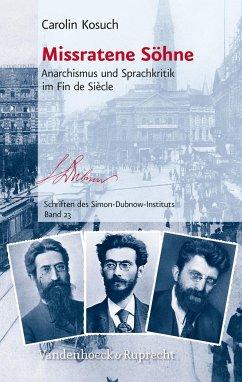 Missratene Söhne (eBook, PDF) - Kosuch, Carolin