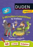 Leseprofi - 3-Minuten-Leserätsel für Erstleser: Einfach magisch