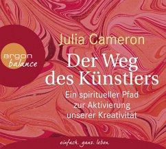 Der Weg des Künstlers, 3 Audio-CD - Cameron, Julia