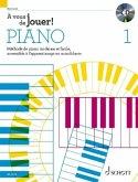À vous de jouer!, pour Piano, m. Audio-CD