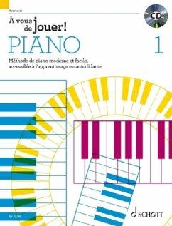 À vous de jouer!, pour Piano, m. Audio-CD - Heumann, Hans-Günter