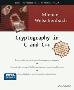 Cryptography in C and C++ (eBook, PDF) - Welschenbach, Michael