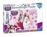 Ravensburger 12742 - Maggie und Bianca, Freundchaft und Musik, Puzzle, 200 Teile, XXL
