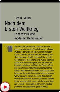 Nach dem Ersten Weltkrieg (eBook, ePUB) - Müller, Tim B.