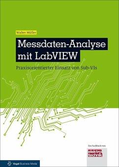 Messdaten-Analyse mit LabVIEW (eBook, PDF) - Müller, Walter