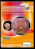 Didaktische DVD Unser Körper in 3D - Sinne und Nerven. DVD-ROM