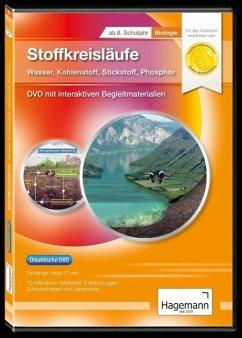 Didaktische DVD Stoffkreisläufe: Wasser, Kohlenstoff, Stickstoff, Phosphor. DVD-ROM