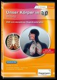 Didaktische DVD Unser Körper in 3D - Atmung. DVD-ROM