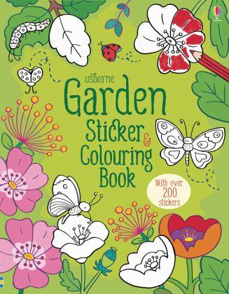 Garden Sticker and Colouring Book von Felicity Brooks - englisches ...