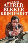 Das große Alfred Bekker Krimi Paket (eBook, ePUB)