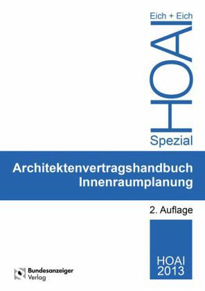 Architektenvertragshandbuch innenraumplanung von anke eich for Innenraumplanung software