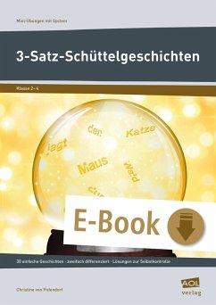 3-Satz-Schüttelgeschichten (eBook, PDF) - Pufendorf, Christine von