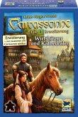 Schmidt Spiele, Hans im Glück 48254 - Carcassonne, Wirtshäuser und Kathedralen, 1. Erweiterung