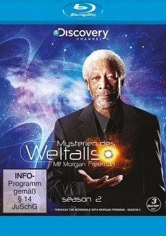 Mysterien des Weltalls - Mit Morgan Freemann - Season 2 BLU-RAY Box