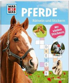 Rätseln und Stickern: Pferde