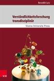 Verständlichkeitsforschung transdisziplinär (eBook, PDF)
