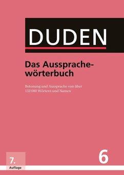 Duden - Das Aussprachewörterbuch (eBook, PDF)