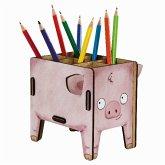 Werkhaus Stiftebox Vierbeiner Schwein