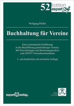Buchhaltung für Vereine - Pfeffer, Wolfgang