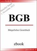 BGB - Bürgerliches Gesetzbuch - Aktueller Stand: 1. November 2015 (eBook, ePUB)