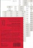 Schönfelder Griffregister Nr. 746 s/w (2016): 196 selbstklebende und bedruckte Griffregister für die Sammlung Schönfelder, Deutsche Gesetze, Hauptband