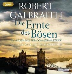 Die Ernte des Bösen / Cormoran Strike Bd.3 (3 MP3-CDs) - Galbraith, Robert