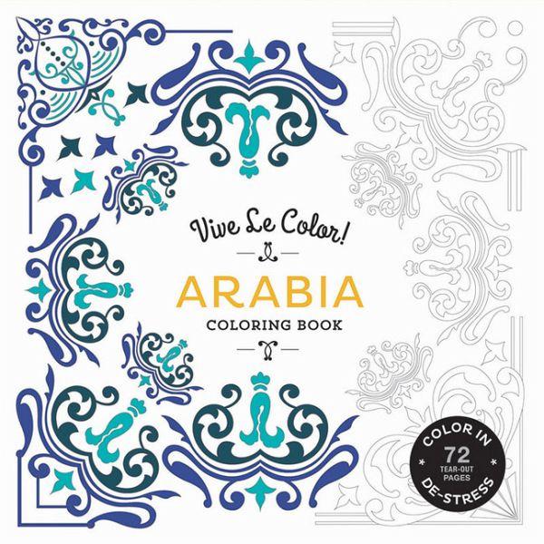 Vive Le Color! Arabia (Adult Coloring Book)