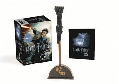 Harry Potter Wizard's Wand with Sticker Book - Press, Running