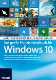 Das große Franzis Handbuch für Windows 10 (eBook, PDF)