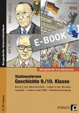 Stationenlernen Geschichte 9./10. Klasse Band 2 (eBook, PDF)