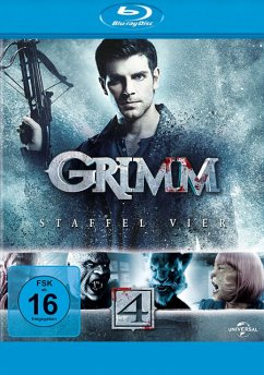 Grimm - Staffel 4 BLU-RAY Box - David Giuntoli,Silas Weir Mitchell,Bitsie...