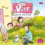 Geheimcode: Schnüffelnase / Die frechen Vier Bd.4 (Audio-CD)