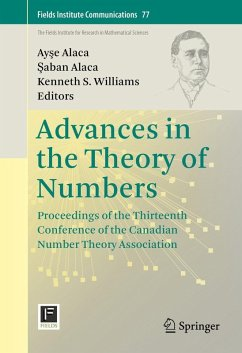 Advances in the Theory of Numbers (eBook, PDF)