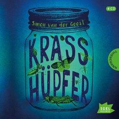 Krasshüpfer, 4 Audio-CDs - Geest, Simon van der